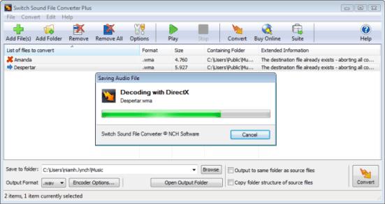 Switch Audio File Converter 6.15 Crack