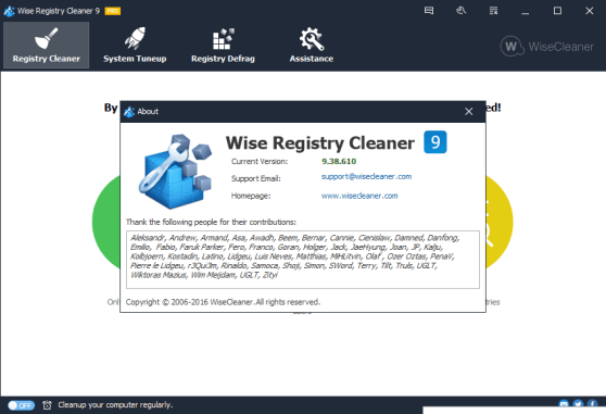 Wise Registry Cleaner 9.61.627 Crack