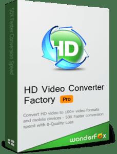 Wonderfox HD Video Converter Factory 13.0 Crack