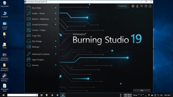Ashampoo Burning Studio 19.0.1 Crack
