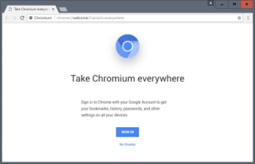 Chromium 68.0.3437.0 Crack