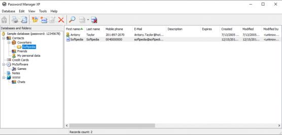 Password Manager XP 3.3 Build 716 Crack