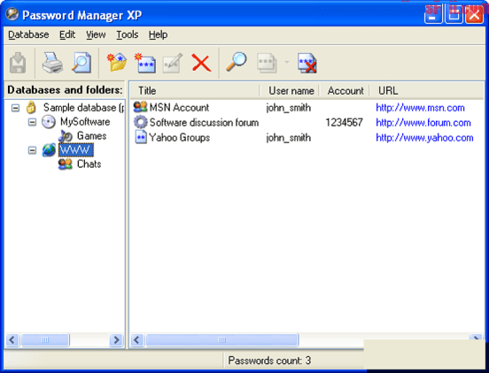 Password Manager XP 3.3 Build 716 Crack
