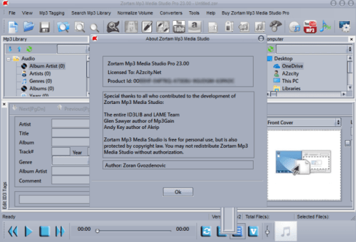 Zortam Mp3 Media Studio 23.65 Crack