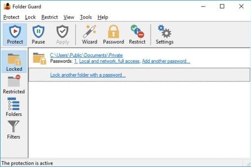 Folder Guard Professional 18.7 Crack
