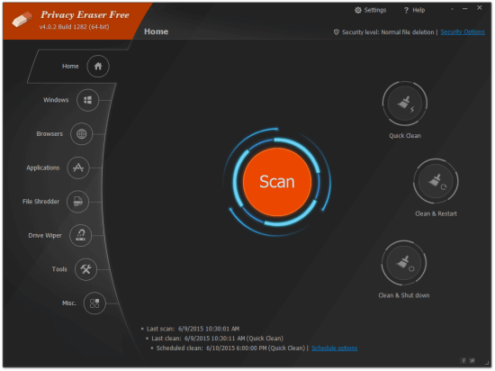 Privacy Eraser Free 4.38.0.2622 Crack