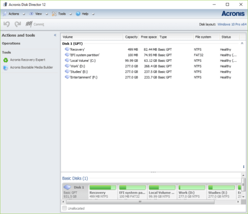 Acronis Disk Director 12.0 Build 96 Crack