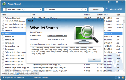 Wise JetSearch 3.01.146 Crack