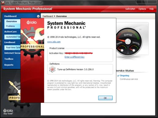 System Mechanic PRO 18 Crack