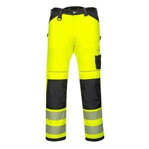 PW340 - PW3 Hi-Vis Work Trousers Yellow/Black