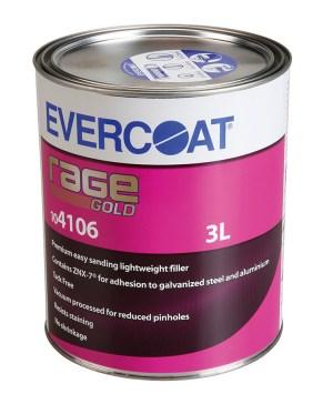 EVERCOAT RAGE GOLD FILLER 3LT