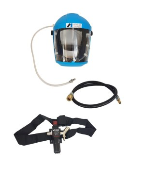 Anest Iwata Full Face Airfed Mask Kit NEW VERSION