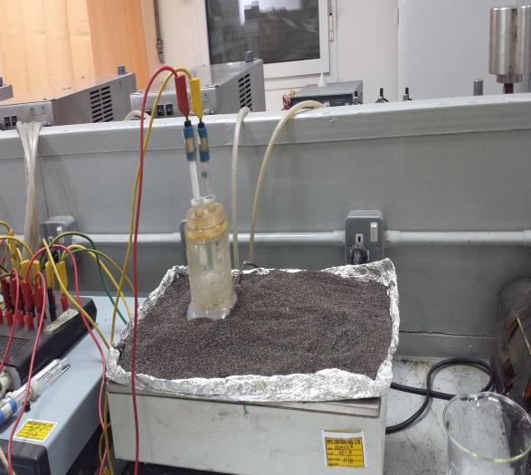 Cathodic Disbondment Set-Up And Testing