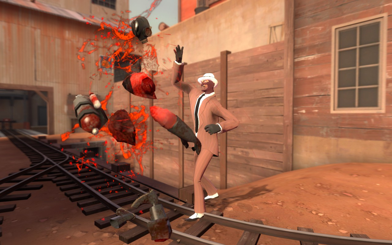 The absolute apex of Team Fortress 2 comedy. Picture by FeelGoodInc.