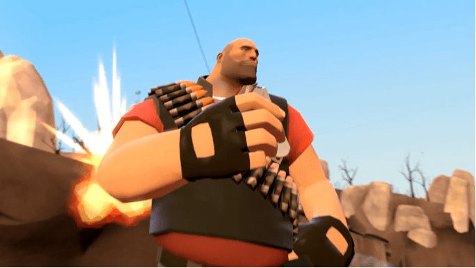 Pictured: The remaining 20% of playing Heavy.