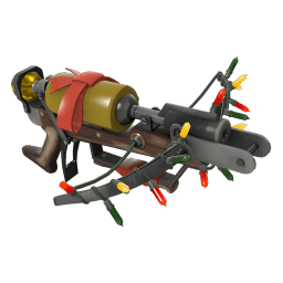 New festive weapons, including the crossbow!