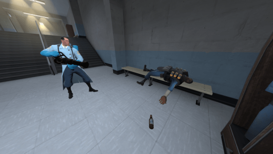 Demoman cant take his booze