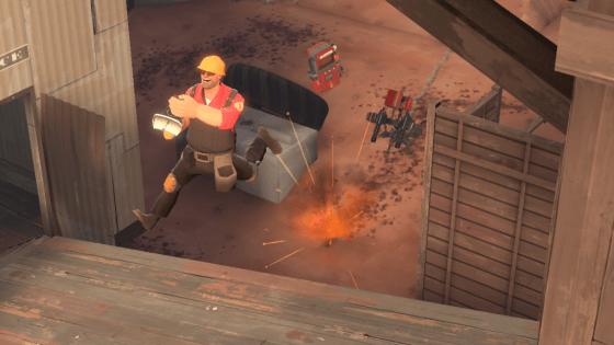 Sentry jump