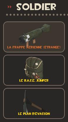 Soldier loadout