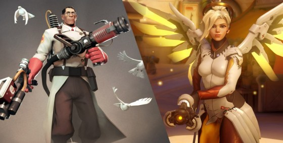 Medic and Mercy. Two peas in a pod or hell on earth?
