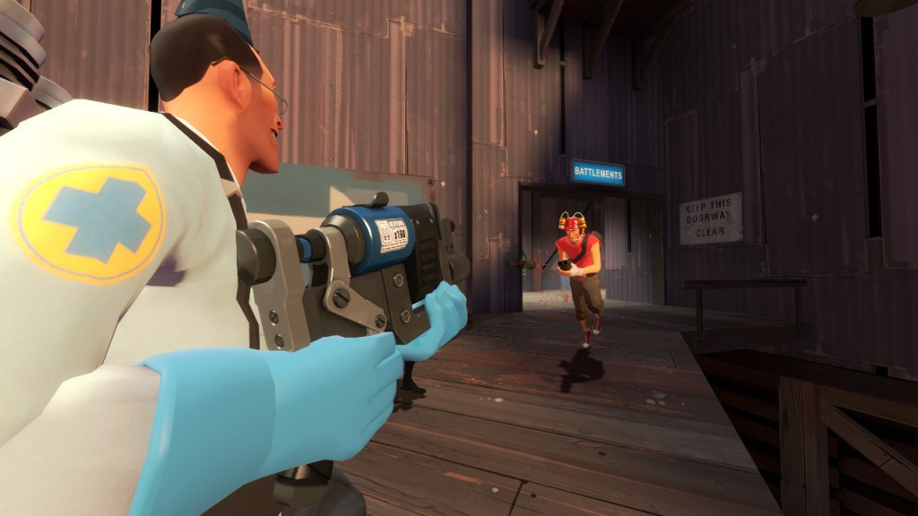Pictured: the average potato Scout who gives Medics free Uber.