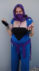 Me, dressed as Malzahar. Not a flattering picture, I know...