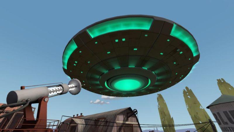 Random UFO?