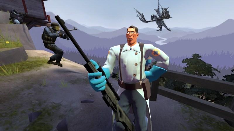 Medic's inability to do headshots.