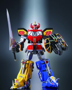 "Technically this figure is of the ""Daizyujin"" but I'm okay with you calling it the ""Megazord"""