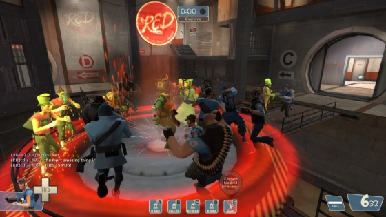 You can also go into (almost) infinite overtime due to doing Mannrobics with the enemy team at the point. THIS IS PUB!