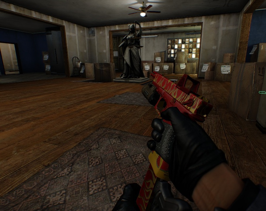 This is not a real skin for the STRYK, I made it with GoonMod Weapon customizer because I never thought they'd actually make a real skin for my favorite gun.