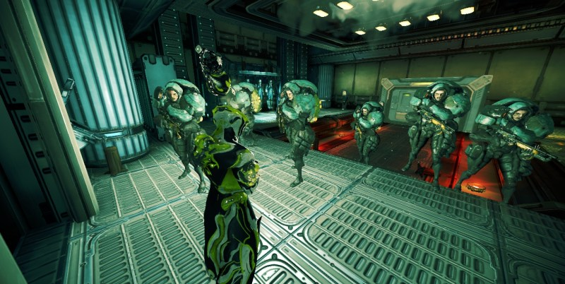 Patience is key. Even on glitched Invasion Spy missions on Ceres. Got a bunch of Grineer guys to follow me around though.