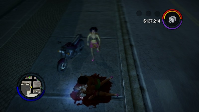 "Nothing says ""I'm sorry I murdered you to take your motorbike"" like un-murdering them!"
