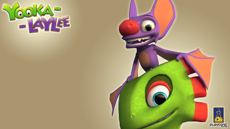 The heroes of the 3D platformer rare-vival... Their pun, not mine.