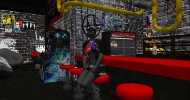 Idling around in Second Life