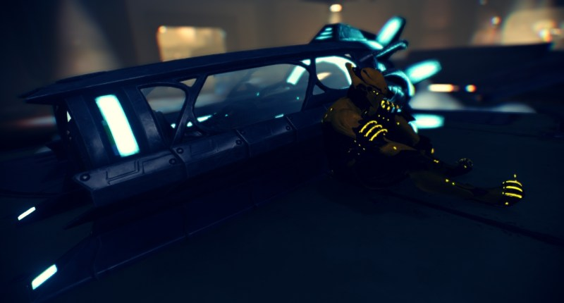 Volt waiting for the Extraction Team