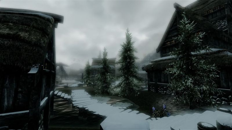 The swamp town of Morthal