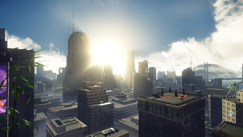 A view of the city in Prey.