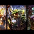 Meet the Guardians! From left to right: Khepri, Sobek, Fafnir.