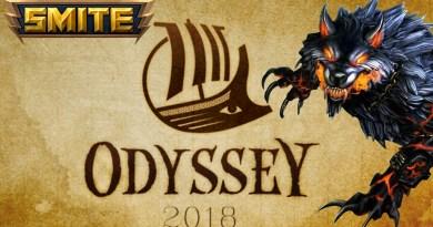 The annual Odyssey event in SMITE.
