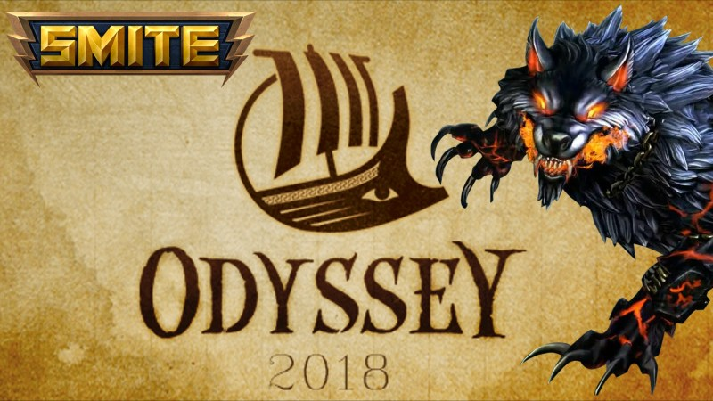 The annual Odyssey event in SMITE.