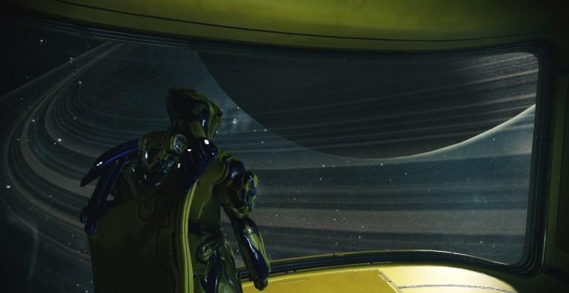 Frost overlooking Saturn
