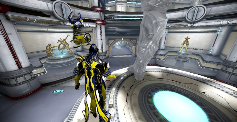 Tenno of Anarchy Clan Hall of Honor Room
