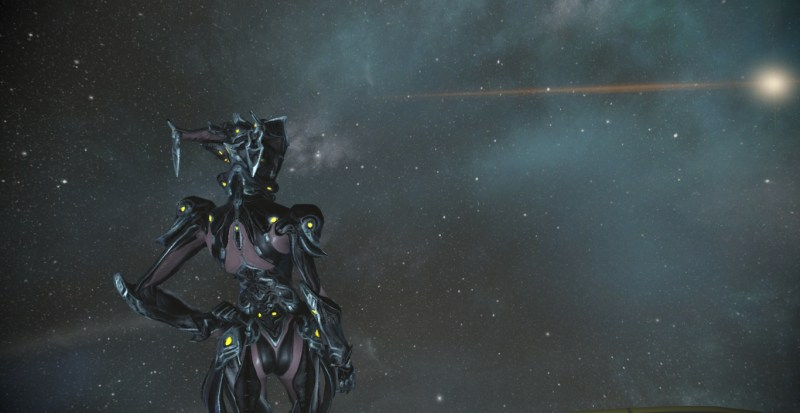 Mirage Prime from behind.
