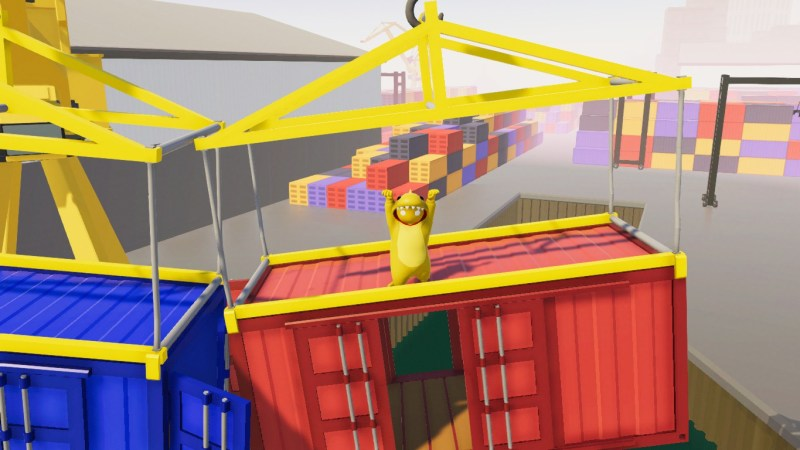 """""""HELP! I NEED TO JUMP TO THE OTHER CRATE BUT WILL PROBABLY OVERTHINK IT AND FALL OFF!"""""""
