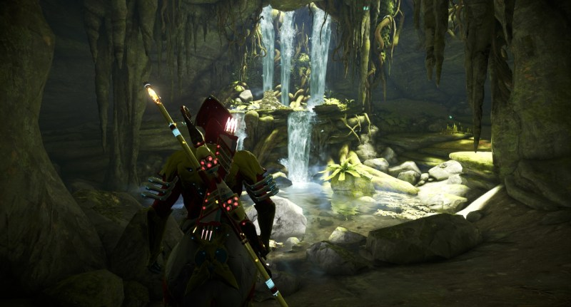 One of the very first screenshots taken. A young Volt with his MK1-Paris, MK1-Bo and Lato stumbles across a Silver Grove.