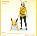 Phovos and Volt, the Jolteon buddy