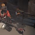 Pyro and Sniper by Medicinal Warlock