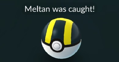 Meltan was caught!