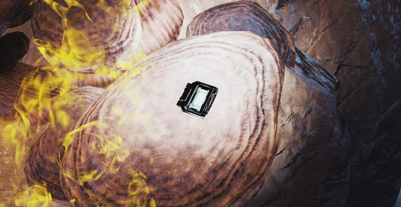 A Data Hash, found in a cave on the Orb Vallis